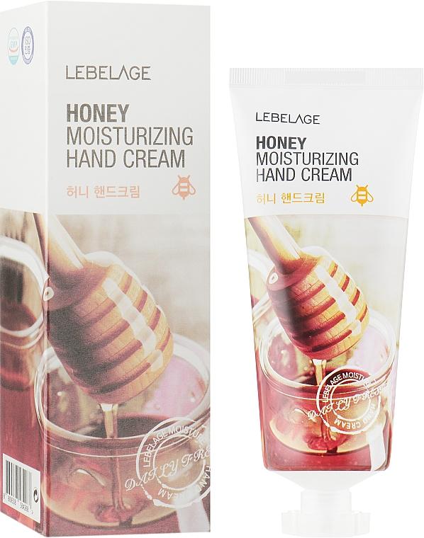 Крем для рук с медом - Lebelage Honey Moisturizing Hand Cream