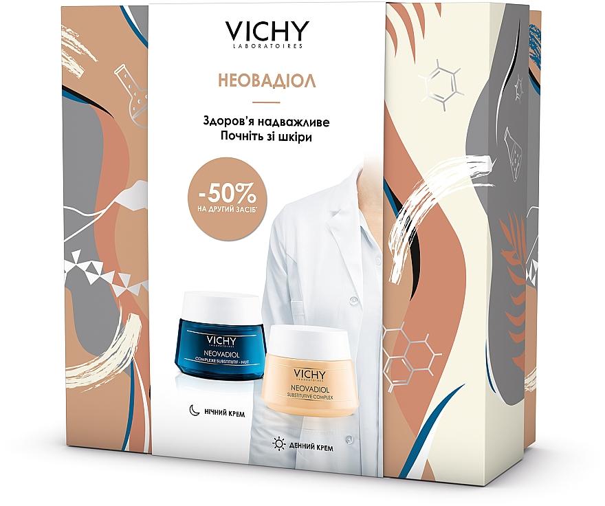 Набор - Vichy Neovadiol (d/cr/50ml + n/cr/50ml)