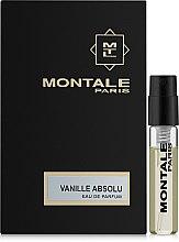 Духи, Парфюмерия, косметика Montale Vanille Absolu - Парфюмированная вода (пробник)