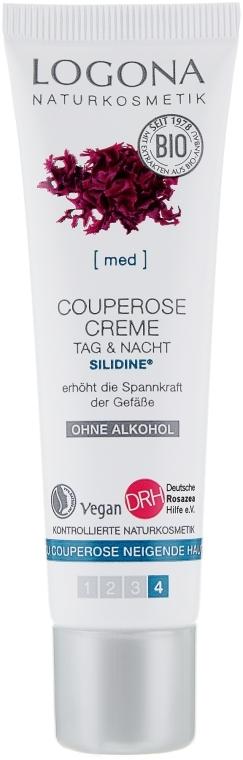 Био-крем от купероза - Logona Couperose Cream Silidine