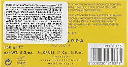 Туалетне мило - Acca Kappa Green Mandarin Toilet Soap — фото N3