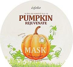 Духи, Парфюмерия, косметика Ткканевая маска для лица с экстрактом тыквы - Esfolio Pumpkin Rejuvenate Mask