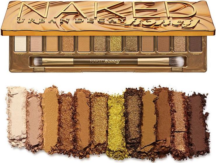 Палетка теней для век - Urban Decay Naked Honey Palette