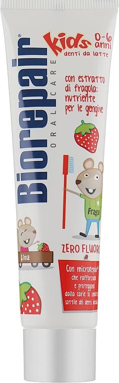 """Детская зубная паста """"Веселый мышонок"""" - BioRepair Kids Topo Gigio Cartoon"""