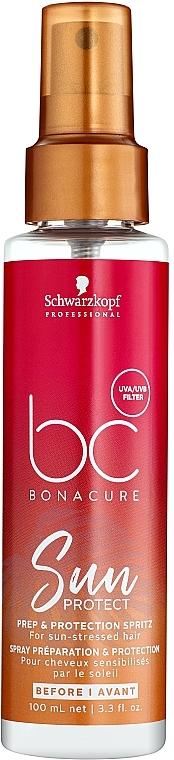Спрей для защиты волос от солнца - Schwarzkopf Professional BC Bonacure Sun Protect Prep & Protection Spritz