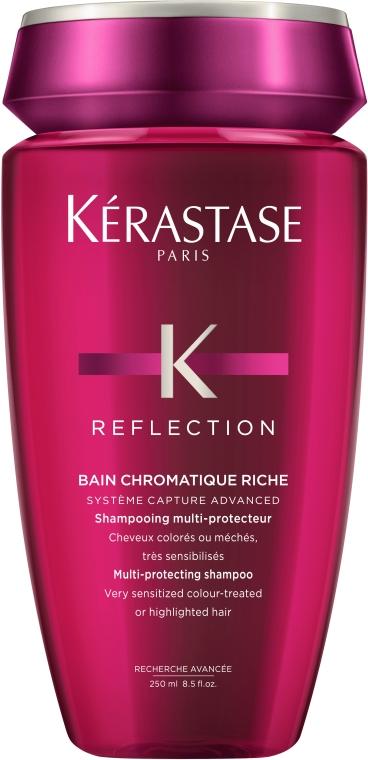 Шампунь-ванна для чувствительных окрашенных мелированных волос - Kerastase Reflection Bain Chromatique Riche