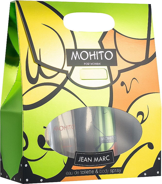 Jean Marc Mohito - Набор (edt/50ml + deo/spray/75ml)
