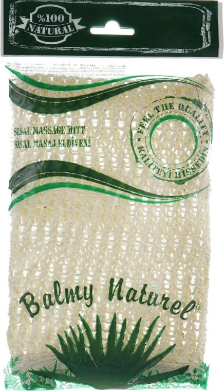 Рукавичка массажная из сизаля - Balmy Naturel