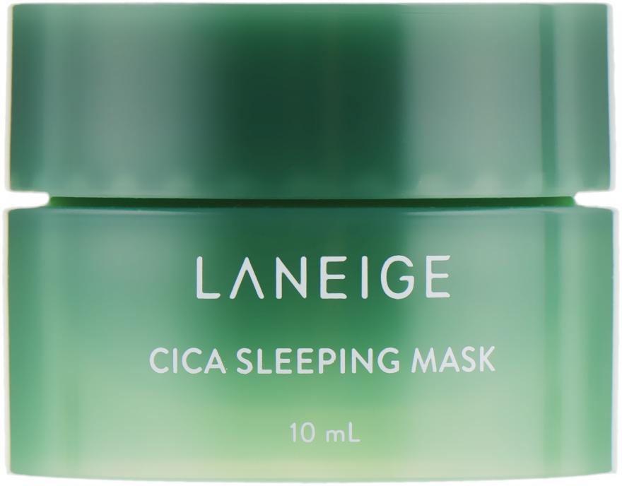 Ночная маска для проблемной кожи - Laneige Special Care Cica Sleeping Mask (мини)