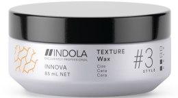 Духи, Парфюмерия, косметика Текстурирующий воск для волос - Indola Style Texture Wax #3