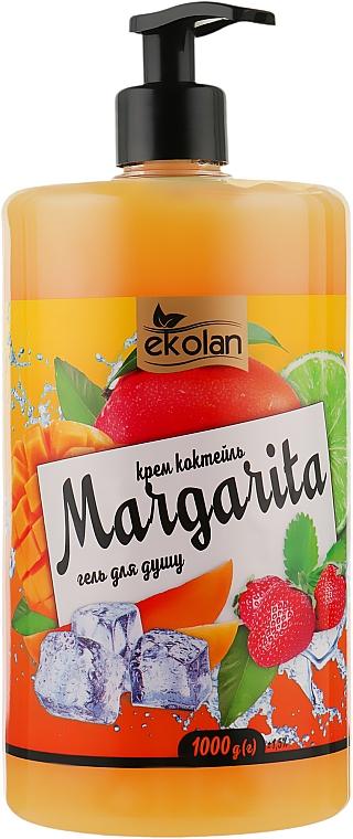 """Гель для душа, крем-коктейль """"Margarita"""" с дозатором - EkoLan"""