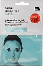 Духи, Парфюмерия, косметика Маска-пилинг для жирной кожи - Tolpa Dermo Face Sebio Peeling Mask For Oily Skin Sachet
