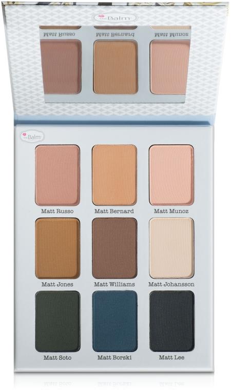 Палетка теней - theBalm Meet Matt(e) Ador Eyeshadow Palette