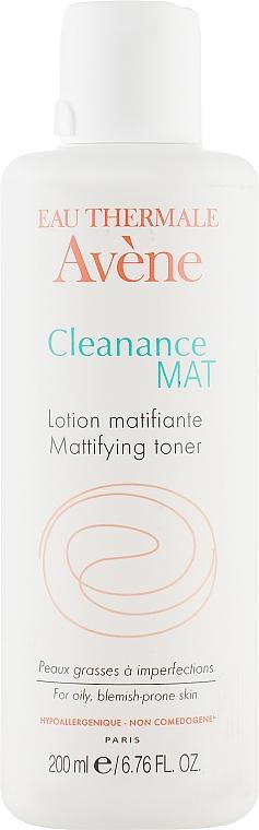 Лосьон-тоник матирующий для проблемной кожи - Avene Anti-Seborrheiques Cleanance Lotion