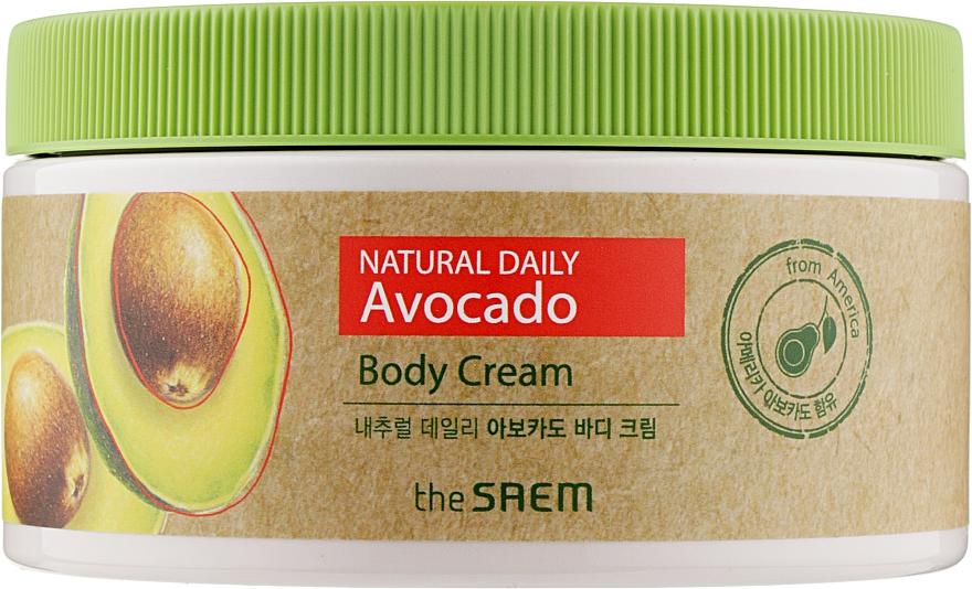Крем для тела с экстрактом авокадо - The Saem Natural Daily Avocado Body Cream