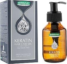 Духи, Парфюмерия, косметика Масло для волос с кератином - Bebak Laboratories Keratin Hair Care Oil