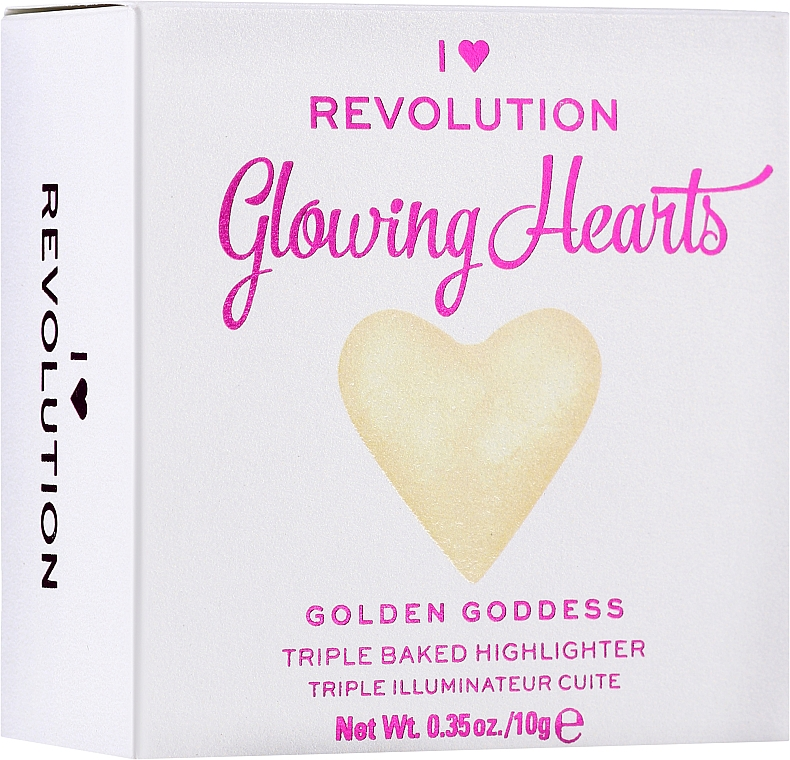 Хайлайтер для лица - I Heart Revolution Blushing Hearts Highlighter