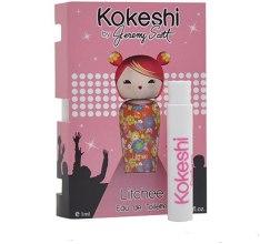 Духи, Парфюмерия, косметика Kokeshi Parfums Litchee by Jeremy Scott - Туалетная вода (пробник)