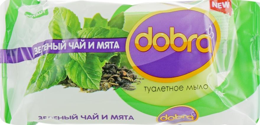 """Мыло туалетное """"Зеленый чай и мята"""" - Мыловаренные традиции Dobra"""