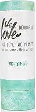 Духи, Парфюмерия, косметика Твердый дезодорант освежающий - We Love The Planet Mighty Mint Deodorant Stick