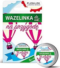 "Духи, Парфюмерия, косметика Вазелин для губ косметический ""Приключение"" - Floslek Lip Care Cosmetic Lip Vaseline Adventure"