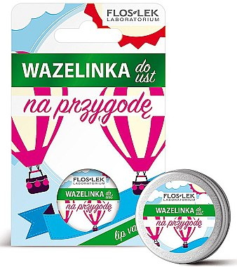 "Вазелин для губ косметический ""Приключение"" - Floslek Lip Care Cosmetic Lip Vaseline Adventure"
