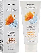 Духи, Парфюмерия, косметика Пенка для умывания с мёдом и витамином С - Jkosmec All Bright Honey and Vitamin C Foam Cleanser