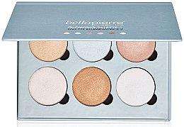 Духи, Парфюмерия, косметика Палетка с эффектом сияния кожи - Bellapierre Cosmetics Glowing Palette 2