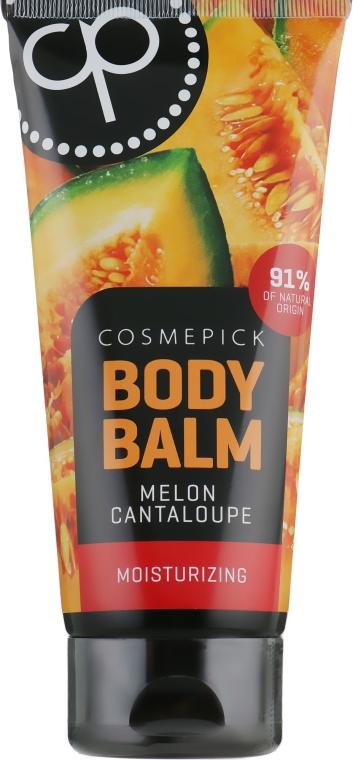 Увлажняющий бальзам для тела с ароматом сочной дыни - Cosmepick Body Balm Melon Cantaloupe