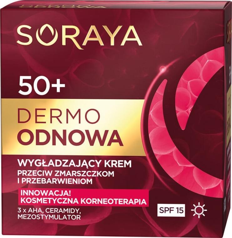 Дневной крем для лица - Soraya Dermo Odnowa 50+ Cream SPF15