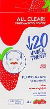 Духи, Парфюмерия, косметика Очищающие полоски для носа - Under Twenty Anti! Acne All Clear! Nose Strip