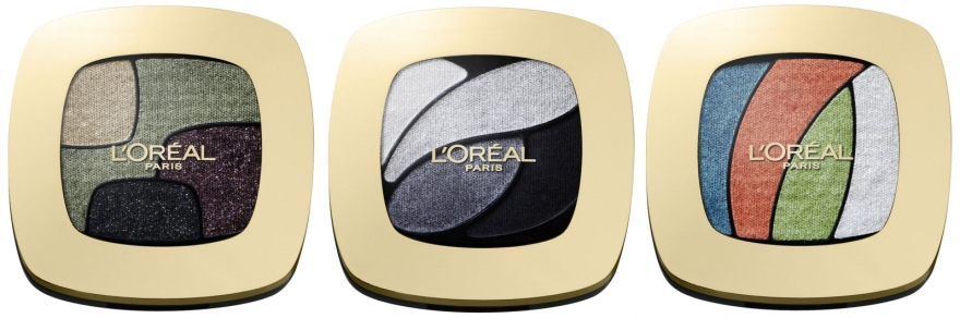 Тени для век - L'Oreal Paris Colour Riche Les Ombres Quadro