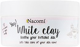 Духи, Парфюмерия, косметика Белая глина для лица - Nacomi White Clay