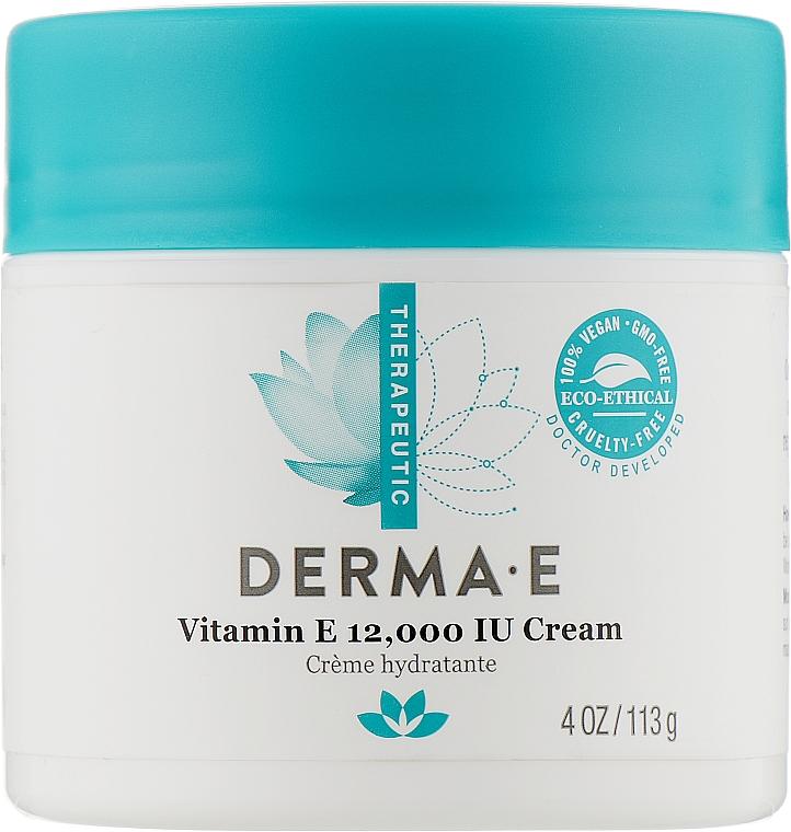 Увлажняющий крем с витамином Е - Derma E Therapeutic Topicals Vitamin E 12 000 IU Cream