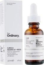 Духи, Парфюмерия, косметика Сыворотка для кожи вокруг глаз - The Ordinary Caffeine Solution 5% + EGCG