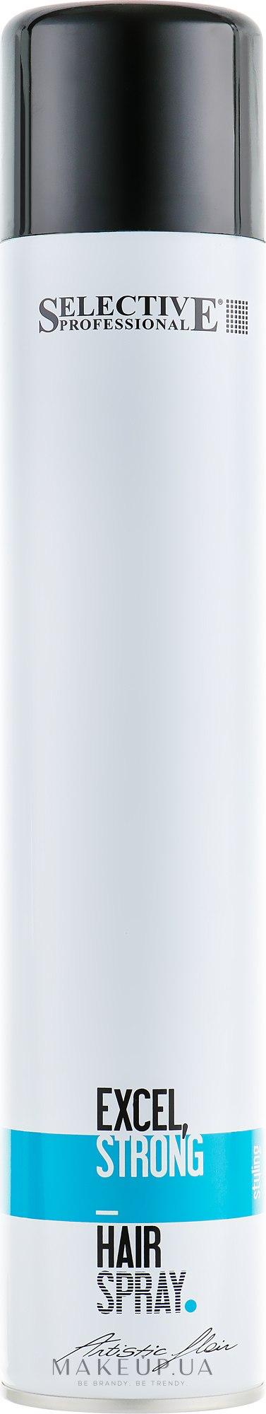 Лак для волос сильной фиксации - Selective Professional Artistic Flair Excel Strong Hairspray — фото 500ml