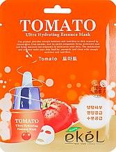 Духи, Парфюмерия, косметика Маска тканевая с экстрактом томата - Ekel Tomato Ultra Hydrating Mask