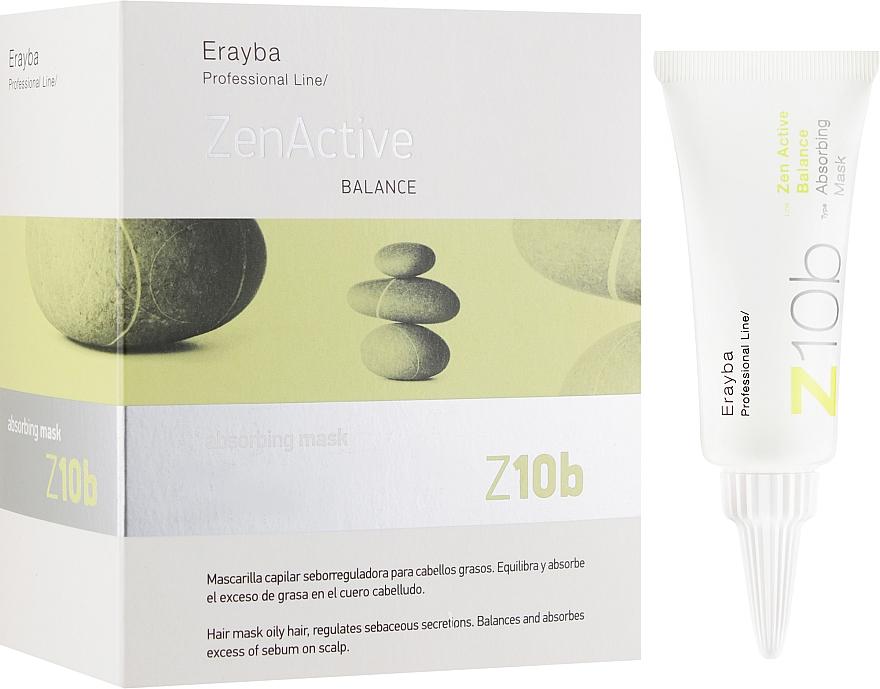 Маска-пилинг против жирных волос - Erayba Z10b Absorving Mask