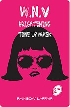 Духи, Парфюмерия, косметика Осветляющая маска для лица - Rainbow L'Affair K-Mask Sheet W.N.V Brightening Tone Up Mask