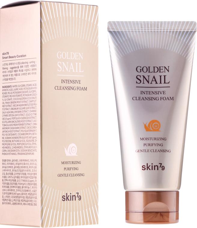 Очищающая пенка со слизью улитки - Skin79 Golden Snail Cleansing Foam