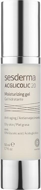 Увлажняющий крем-гель - SesDerma Laboratories Acglicolic 20 Moisturizing Cream Gel