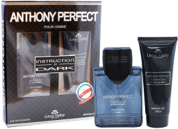 Духи, Парфюмерия, косметика Lotus Valley Anthony Perfect Instruction In Dark - Набор (edt 100ml + sh/gel 100 ml)