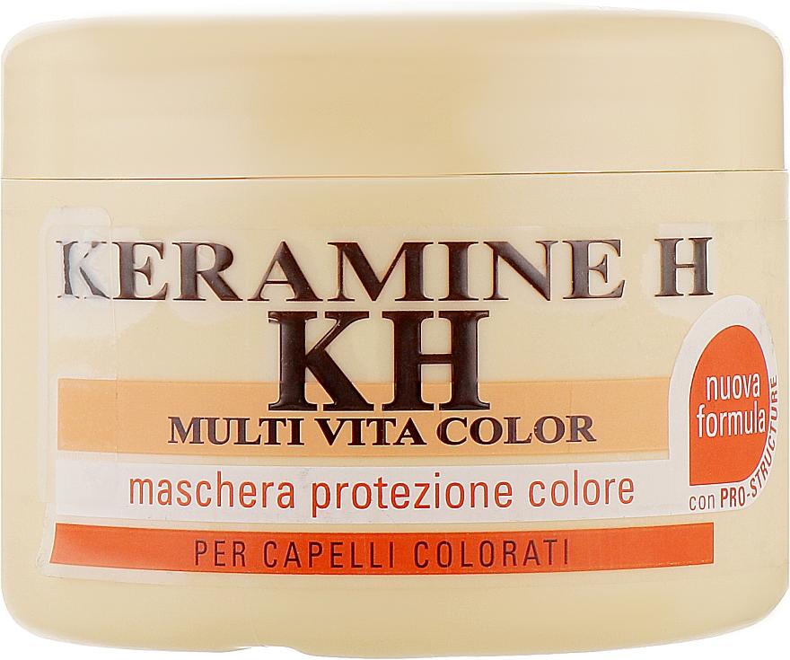 Маска для окрашенных волос Мультивитаколор - Keramine H Schermo Protettivo Multi Vita Color