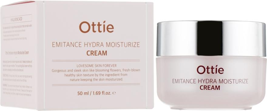 Крем для лица с гиалуроновой кислотой - Ottie Emitance Hydra Moisturize Cream