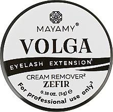 Духи, Парфюмерия, косметика Ремувер для ресниц кремовый - Mayamy Volga Cream Remover Zefir