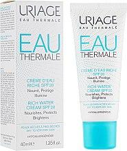 Духи, Парфюмерия, косметика Обогащенный крем для лица увлажняющий для сухой кожи - Uriage Crème d'Eau Riche SPF20