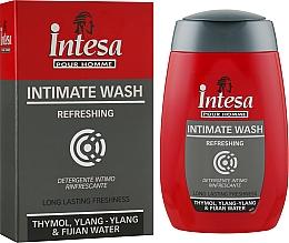 Духи, Парфюмерия, косметика Жидкое мыло для интимной гигиены освежающее - Intesa Silver Intimate Wash Refreshing