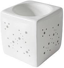 Духи, Парфюмерия, косметика Аромалампа квадратная, белая - Flagolie By Paese Cube Fireplace White
