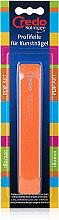 Духи, Парфюмерия, косметика Пилка Pop Art для искусственных ногтей 180 мм, 27312, оранжевая - Credo Solingen