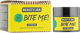 Духи, Парфюмерия, косметика Скраб для губ с кокосовым маслом и маслом ши - Beauty Jar Bete Me Lip Peeling